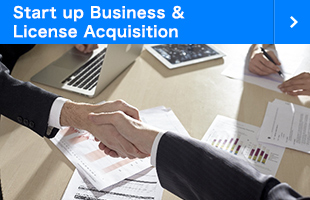 Start up Business & License Acquisition